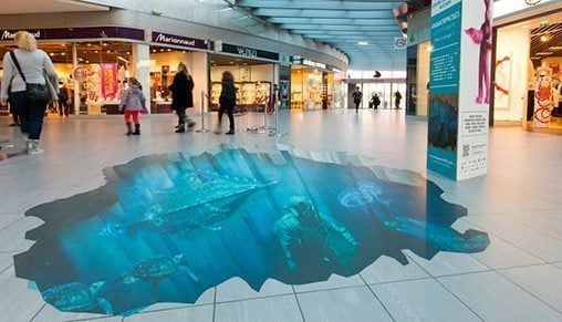 3D Floor Graphic