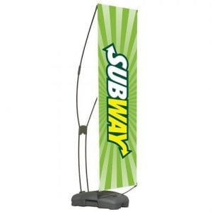 Cyclone Outdoor Banner Stand