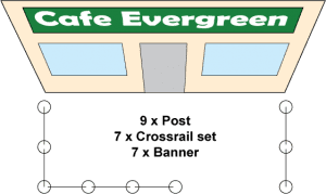 Cafe Barrier Layout