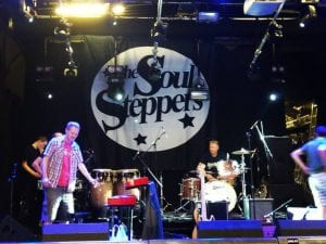 Stage Backdrop Soul Steppers