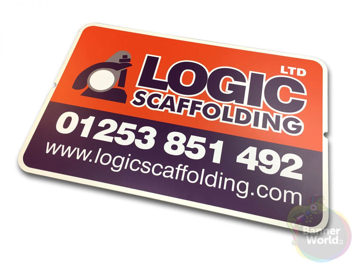 Scaffold Sign Board