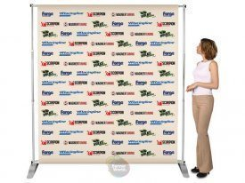 Press Backdrop Stand