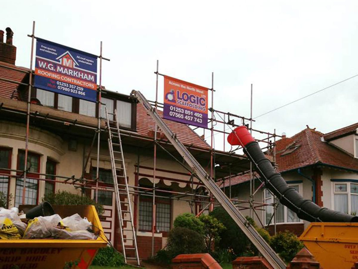 Scaffold Banners