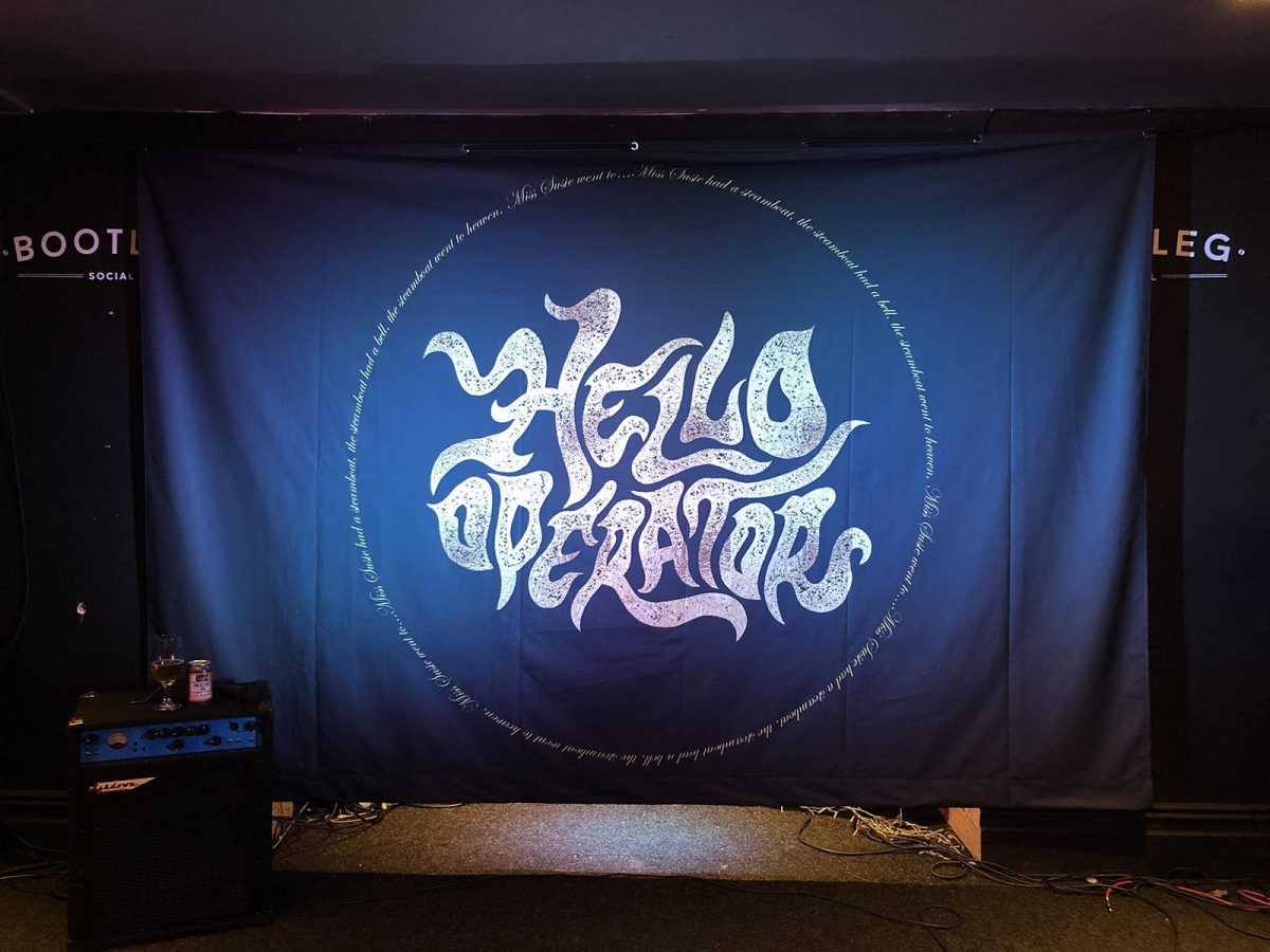 Block out Full Colour Printed Backdrop