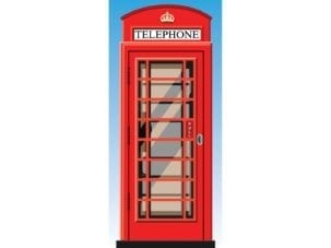dementia exit door wrap london telephone box