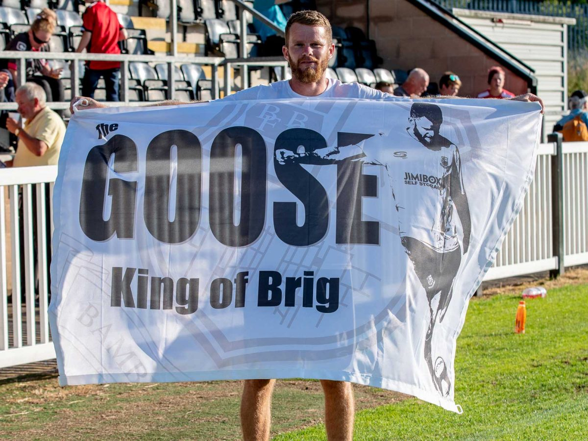 Bamber Bridge Football Flag