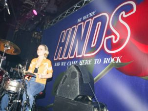 Hinds Satin Backdrop