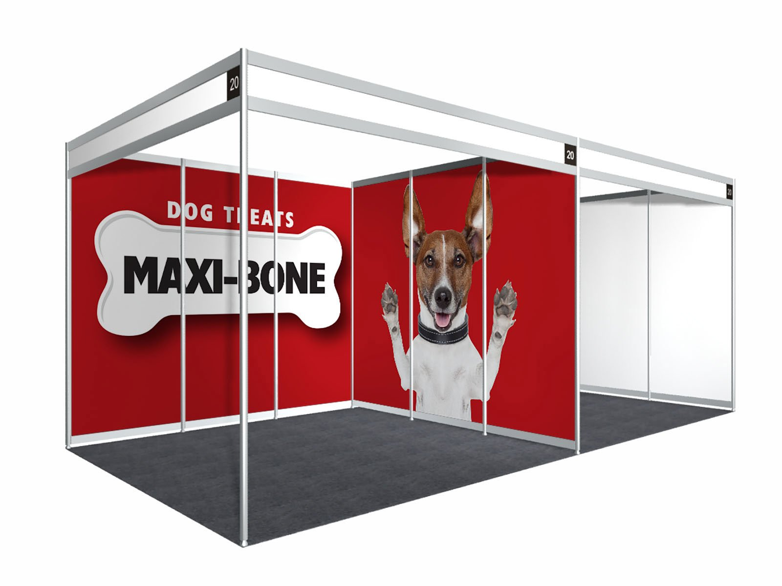 Exhibition Shell Scheme For Sale : Phototex shell scheme graphics enhance your exhibition stand
